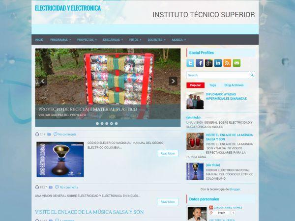 Blog Electricidad y Electrónica - Docente Carlos Gomez