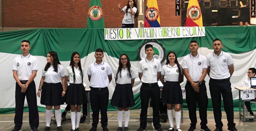 Estudiantes Gobierno Escolar 2019